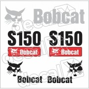 Kit Adesivos Bobcat S150 Decalx