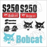 Kit Adesivos Bobcat S250 Decalx