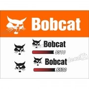 Kit Adesivos Bobcat S510 Decalx