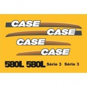 Kit Adesivos Case 580 L Serie 3 - Decalx