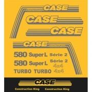 Kit Adesivos Case 580 Super L - Decalx