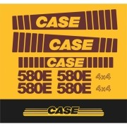 Kit Adesivos Case 580e - Decalx