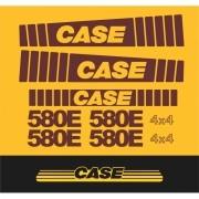 Kit Adesivos Case 580e - Decalx