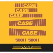 Kit Adesivos Case 580h - Decalx