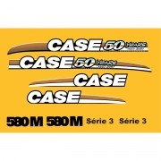 Kit Adesivos Case 580m 50 Years - Decalx