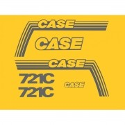 Kit Adesivos Case 721c - Decalx