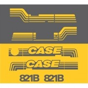 Kit Adesivos Case 821b - Decalx