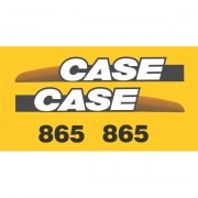Kit Adesivos Case 865 - Decalx