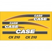 Kit Adesivos Case Cx210 - Decalx