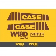 Kit Adesivos Case W18d - Decalx