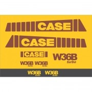 Kit Adesivos Case W36b - Decalx