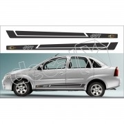 Kit Adesivos Chevrolet Corsa Sedan Joy 3m Cs0301