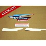 Kit Adesivos Crypton 2000 Vermelha Resinado