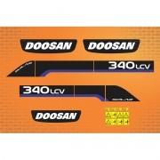 Kit Adesivos Doosan 340 Lcv 340lcv