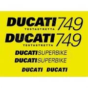Kit Adesivos Ducati Superbike 749 Testastretta Dct74902