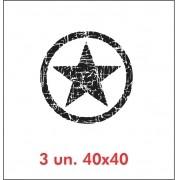 Kit Adesivos Estrela Militar Jeep Willys Cherokee ad3