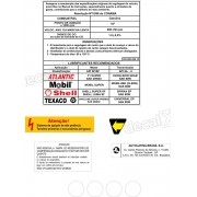 Kit Adesivos Etiquetas Motor Volkswagen Cht Gol Saveiro