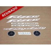 Kit Adesivos Fazer 250 2007 Preta Resinado