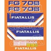Kit Adesivos Fiatallis Fg 70b