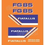Kit Adesivos Fiatallis Fg 85