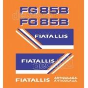 Kit Adesivos Fiatallis Fg 85b2