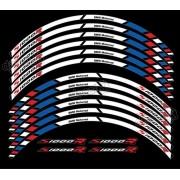 Kit Adesivos Friso Refletivo Roda Moto Bmw S1000r Fri013