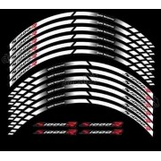 Kit Adesivos Friso Refletivo Roda Moto Bmw S1000r Fri029