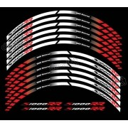 Kit Adesivos Friso Refletivo Roda Moto Bmw S1000rr Fri028