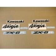 Kit Adesivos Kawasaki Ninja Zx-6r 2005 Verde