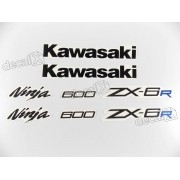 Kit Adesivos Kawasaki Ninja Zx-6r 2012 Verde