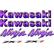 Kit Adesivos Kawasaki Ninja Zx 7