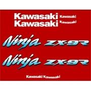Kit Adesivos Kawasaki Ninja Zx-9r 1994 À 1997 Vermelha