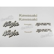Kit Adesivos Kawasaki Ninja Zx-9r 1998 À 1999 Verde