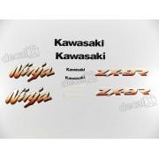 Kit Adesivos Kawasaki Ninja Zx-9r 2000 Azul