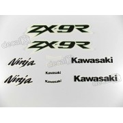 Kit Adesivos Kawasaki Ninja Zx-9r 2002 Verde