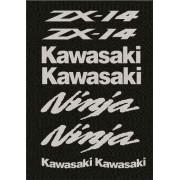 Kit Adesivos Kawasaki Zx14 2012