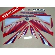 Kit Adesivos Lander 250 2009 Vermelha Resinado