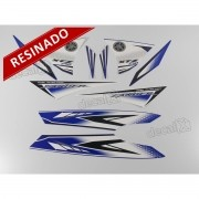 Kit Adesivos Lander 250 2011 Azul Resinado