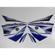 Kit Adesivos Lander 250 2011 Preta Resinado