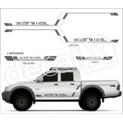 Kit Adesivos Mitsubishi L200 Animal