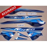 Kit Adesivos Neo 2010 Azul Resinado