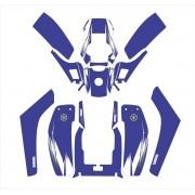 Kit Adesivos Quadriciclo Atv Yamaha 350f 0,60mm 3m Yh018