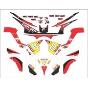 Kit Adesivos Quadriciclo Can Am Renegade 800 0,60mm 3m Cn006