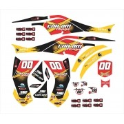 Kit Adesivos Quadriciclo Canam Can Am Ds 450 0,60mm 3m Cn002