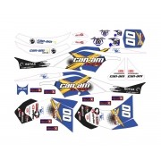 Kit Adesivos Quadriciclo Canam Can Am Ds 450 0,60mm 3m Cn003