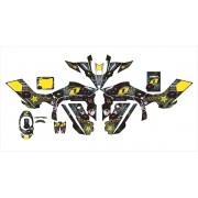 Kit Adesivos Quadriciclo Yamaha Yfz 450r 0,60mm 3m Yh080