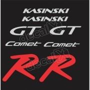 Kit Adesivos Resinados Kasinski Comet Gtr Decalx