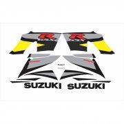 Kit Adesivos Suzuki Gsxr 1000 2004 Amarela E Cinza 10004ac