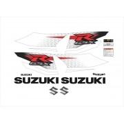 Kit Adesivos Suzuki Gsxr 1000 2012 Azul Sz100012ab