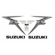 Kit Adesivos Suzuki Gsxr 750 2010 Marrom 75010mr